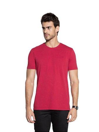 Docthos Camiseta Basic Slim Vermelho 623119082