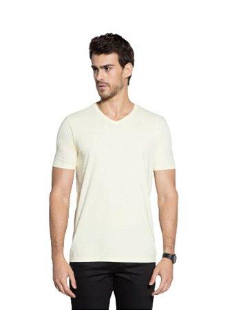 Docthos Camiseta Basic Slim Amarelo 623119082