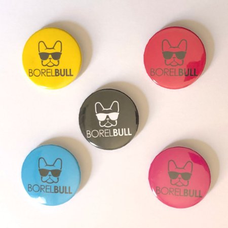 Button BorelBull