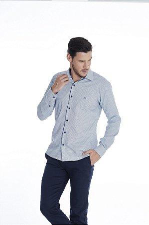 Camisa Slim Gravataria Manga Longa 606-20