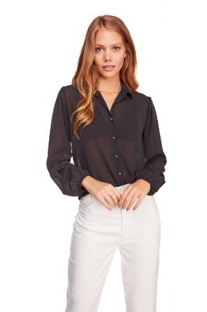 Camisa Feminina Lisa 7/8 262-20