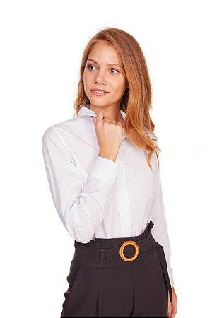 Camisa Feminina Lisa M/L Branca 3006-U