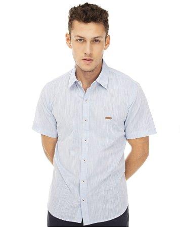 Camisa Casual Lisa Manga Curta 520-21