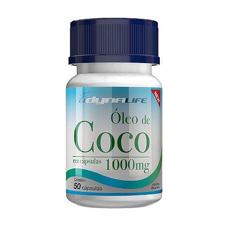 ÓLEO DE COCO DYNALIFE 1000mg -  50 CAPS