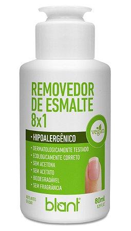 REMOVEDOR DE ESMALTE - 8 X 1 - VEGANO 80 mL