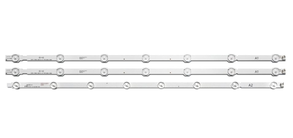 Kit Barra LED TV LG 32LA613B, 32LB530B, 32LN536B, 32LN5400, 32LN540B, 32LN546B, 32LN549C, 32LN549E, 32LN560B, 32LN570B, 32LP360H, 32LP560H