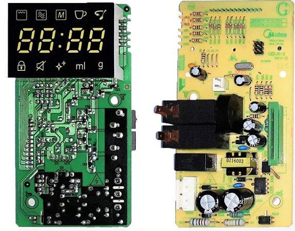 Placa Painel Forno Microondas Panasonic NN-GT68, NN-GT684
