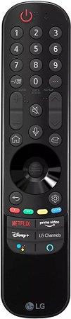 CONTROLE REMOTO SMART MAGIC LG AKB76036203 MODELO AN-MR21GA