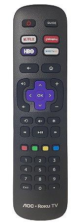 Controle Remoto Smart Tv Aoc 43s5195, 32s5195