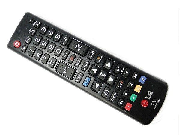 Controle Remoto TV Lg Smart 3d Akb73715664 Original