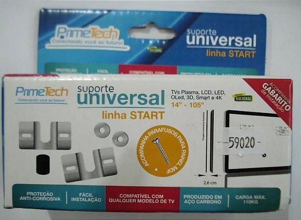 """Suporte Fixo Universal Primetech para TV  de 14"""" a 105"""""""