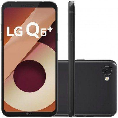 """Smartphone LG Q6+ com 64GB, Tela 5.5"""", Android 7.0, 4G, Câmera 13MP, Processador Octa-Core e 4GB de RAM"""