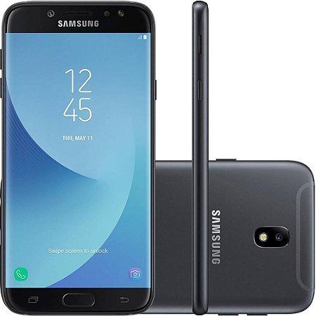 """Smartphone Samsung Galaxy J7 com 64GB, Tela 5.5"""", Câmera 13MP, Dual Chip, NFC, Android, 7.0, Processador Octa Core e 3GB RAM"""