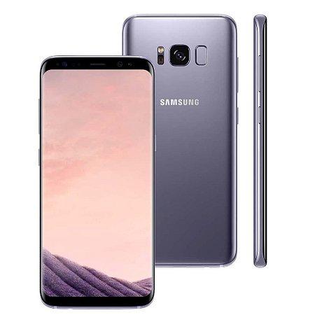 "Smartphone Samsung Galaxy S8 Plus Dual Chip Ametista com 64GB, Tela 6.2"", Android 7.0, 4G, Câmera 12MP e Octa-Core"