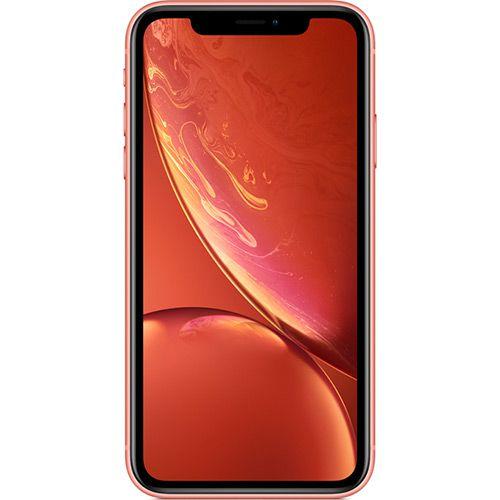 """iPhone XR Apple Coral 128GB, Tela Retina LCD de 6,1"""", iOS 12, Câmera Traseira 12MP, Resistente à Água e Reconhecimento Facial"""