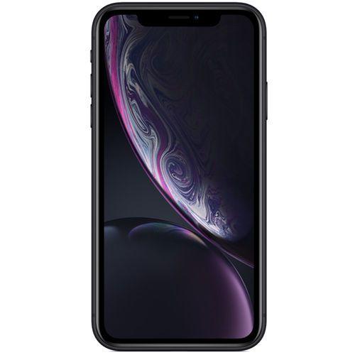 """iPhone XR Apple Preto 256GB, Tela Retina LCD de 6,1"""", iOS 12, Câmera Traseira 12MP, Resistente à Água e Reconhecimento Facial"""