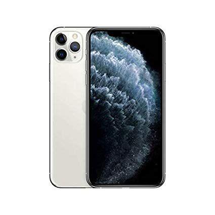 """iPhone 11 Pro Max Apple com 64GB, Tela Retina HD de 6,5"""", iOS 13, Tripla Câmera Traseira, Resistente à Água e Bateria de Longa Duração - Prateado"""