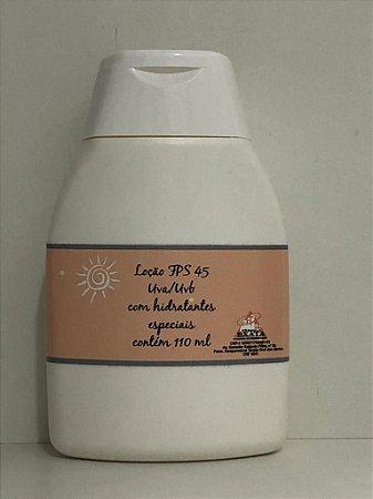 LOÇÃO FPS 45 com hidratantes especiais 110ml