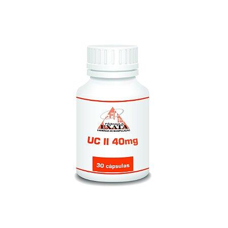 UC II 40mg 30 cápsulas