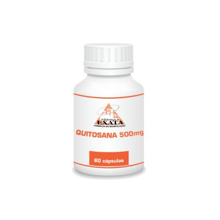 QUITOSANA 500mg 60 cápsulas