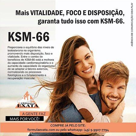 KSM-66 300mg 60 cápsulas