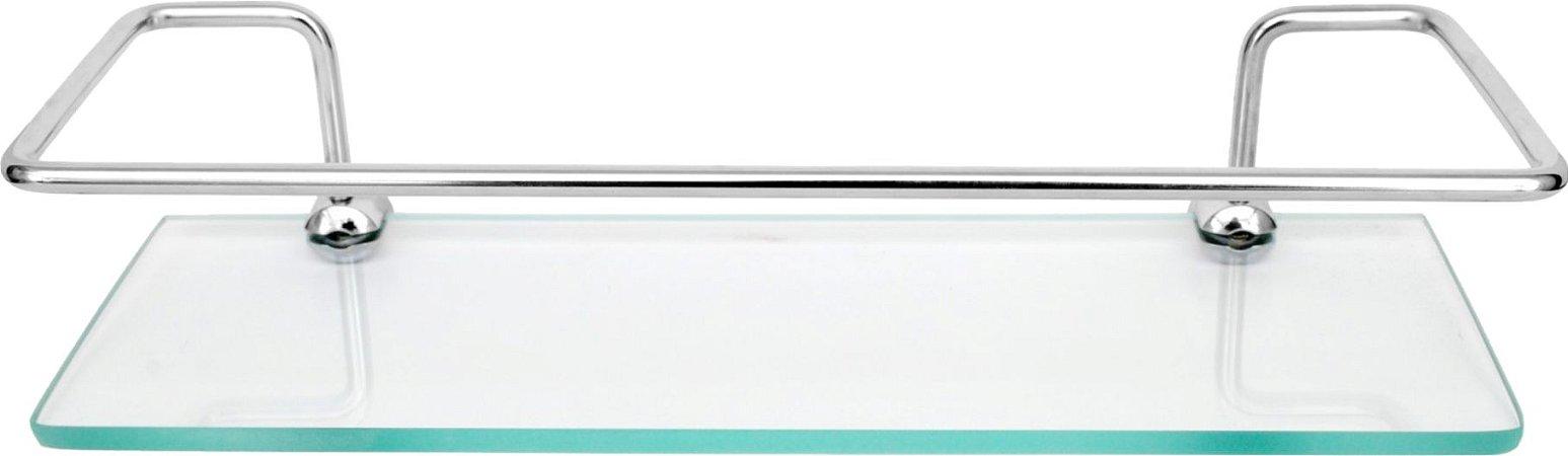Porta Shampoo Reto Transparente - Cobra