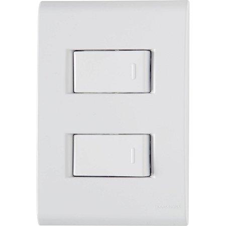 Interruptor 2S Simples 10A/250V Liz - Tramontina