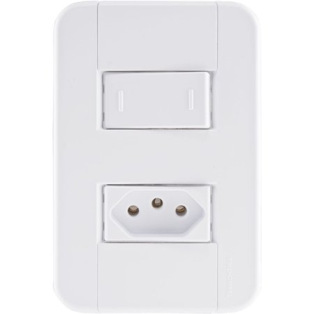 Interruptor Paral.+Tom.2P+T 10A/250V - Tramontina