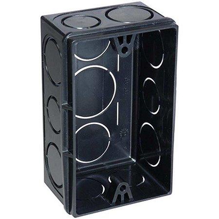 Caixa De Luz 4X2 Preto - Tigre