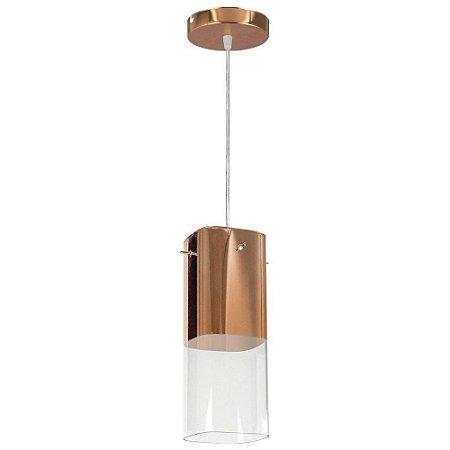 Pendente Mirage Cobre 1 Lampada E27 - Llum