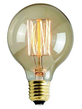 Lampada Filamento Vintage G80 60W 2200K 127V - Llum