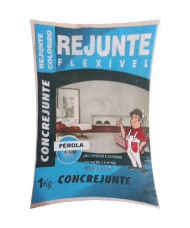 Rejunte Flex 1Kg Perola - Concrejunte