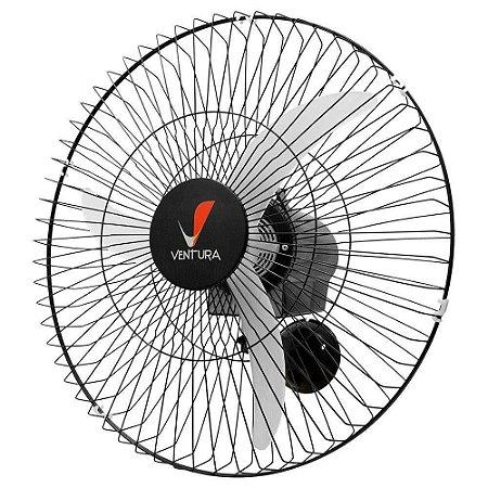 Ventilador Parede 50Cm Preto Ventura Bivolt - Venti Delta