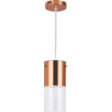 Pendente First Cobre 1 Lampada E27 - Llum