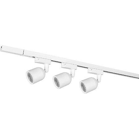 Kit Trilho Led com 3 Spots 7W Luz Branca Elegance - Avant