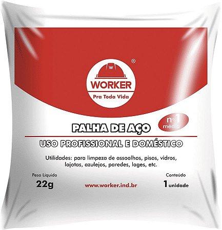 Palha de Aco N 1 22 G - Worker
