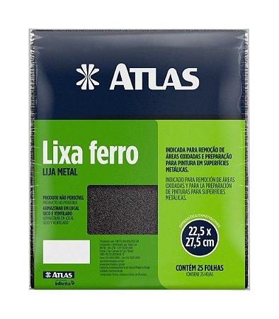 Lixa Ferro Grao 120 - Atlas