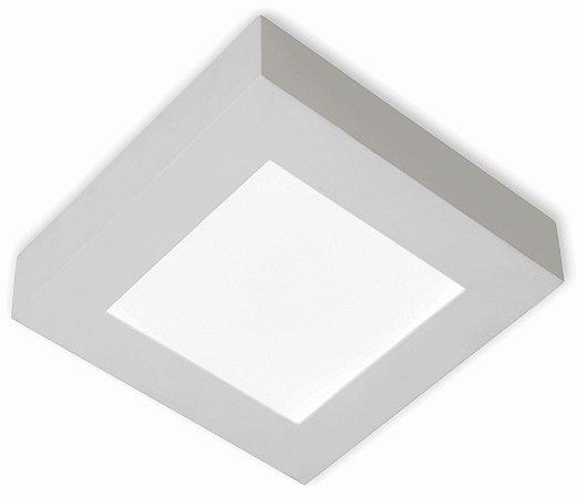 Luminaria De Sobrepor Led Slim Quadrada 18W 6500K - Startec