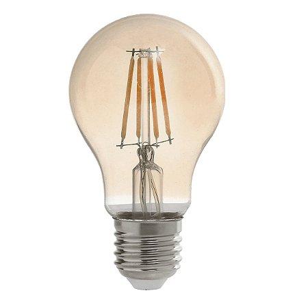Lampada LED Filamento A60 4W 2200K Dimerizavel Retrô - Avant
