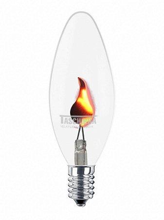 Lampada Vela Flicker 2W 127V - Taschibra