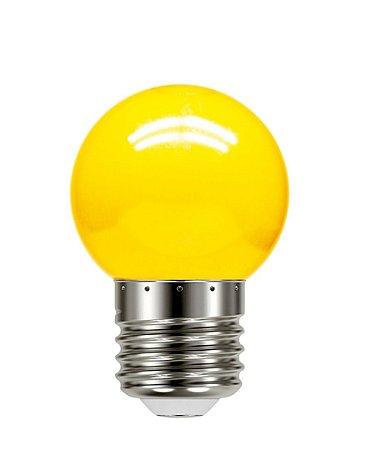 Lâmpada Led Bolinha Tbl 05 Amarela 1W 127V - Taschibra