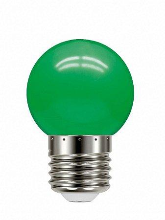 Lâmpada Led Bolinha Tbl 05 Verde 1W 127V - Taschibra