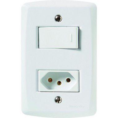 Interruptor Simples C/ Tomada 2P+T 20 A - Tramontina