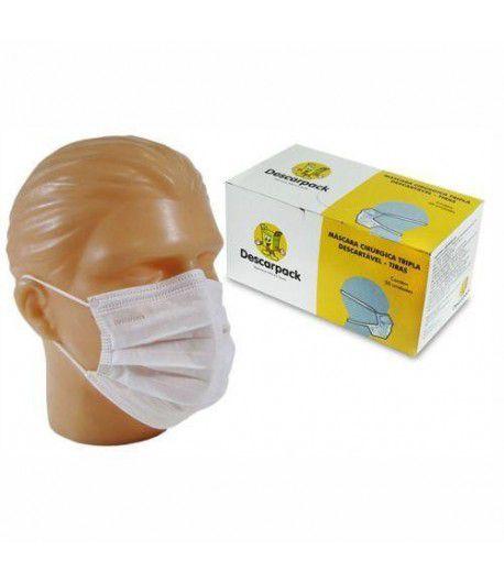 Mascara Branca C/Elástico DPK CX