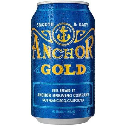 anchor gold ale 355ml