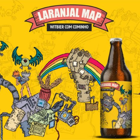 TBF LARANJAL MAP 600ML