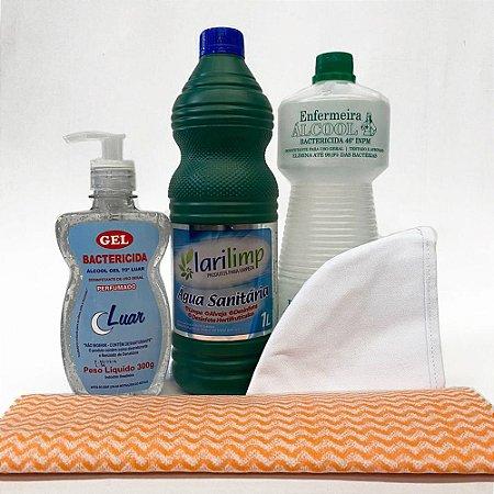 Kit Bactericida Completo Para proteção e higienização
