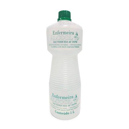 Álcool bactericida enfermeira 1L Luar Magico 1 unidade