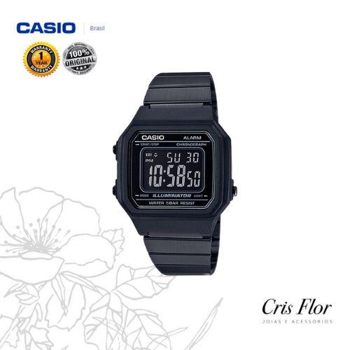 Relógio Casio Vintage Grande Preto B650WB-1BDF