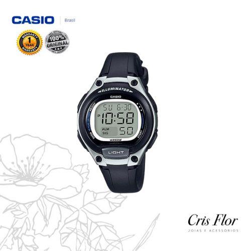 Relógio Casio Sport Preto LW-203-1AV